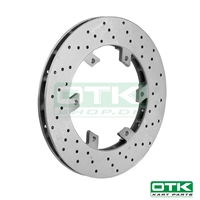 Self-ventilated rear brake disk 206x16mm